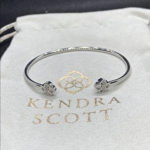 New Kendra Scott Silver Rue Cuff Bracelet